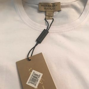 Burberry Tops - NWT Burberry Check Cuff T-shirt